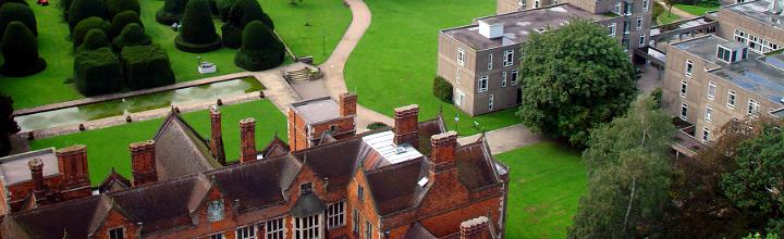 Heslington Hall and Derwent College from 