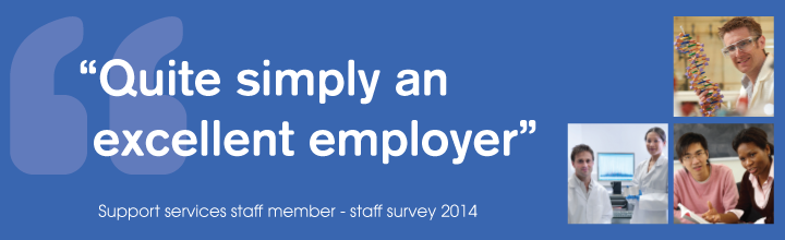 Staff survey views from support staff 2014